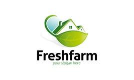 Logo frais de ferme Images stock
