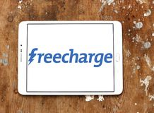 FreeCharge ecommerce website logo Stock Image