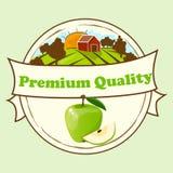 Logo of fresh juice Stock Photography