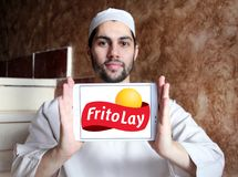 Frito-Lay food company logo Stock Images