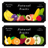 Logo fruit Royalty Free Stock Image
