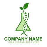 Logo génétiquement modifié de collectes illustration stock