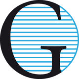 Logo G Photographie stock libre de droits