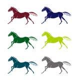 Logo - a galloping horse Stock Photography