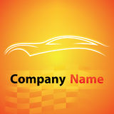 Logo garage auto motor car Royalty Free Stock Photo