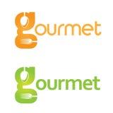 Logo gastronomico Immagini Stock