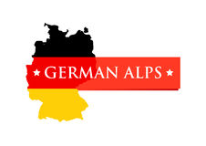 Logo of German Alps Stock Images