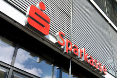 Logo of the German Sparkasse Stock Images