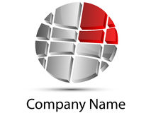 Logo Global Royalty Free Stock Photos