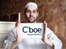 Logo globaler Märkte Cboe Lizenzfreie Stockfotografie