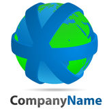 Logo Globo Royalty Free Stock Image