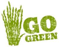 Logo go green Stock Photography