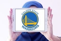 Golden State Warriors basketball team logo Stock Photography