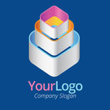 Logo and graphic design. Using vector Stock Images