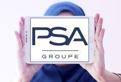 Logo Groupe PSA Lizenzfreie Stockfotos