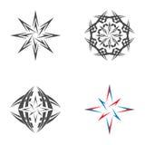 Logo gwiazda Betlejem Obrazy Stock