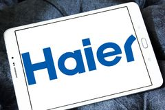Logo Haier Group Corporation Stockfotografie