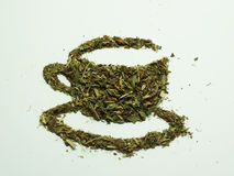logo herbata Zdjęcia Stock