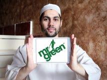 Logo Herrn Green Firmen Lizenzfreie Stockfotografie