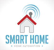 Logo - Home automation Stock Image