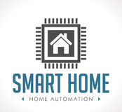 Logo - Home automation Stock Photo