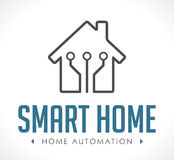 Logo - Home automation Royalty Free Stock Photography