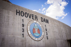 Logo of Hoover Dam Royalty Free Stock Photos