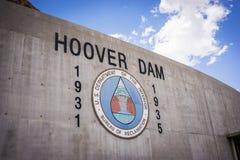 Logo of Hoover Dam Royalty Free Stock Photos