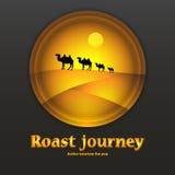 Logo.  hot journey. Stock Stock Photography
