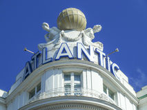 Logo of Hotel Atlantic Royalty Free Stock Images