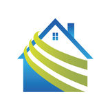 Logo House Royalty Free Stock Photos