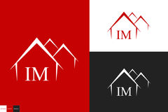 Logo house Royalty Free Stock Photography
