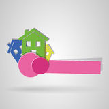 Logo house Royalty Free Stock Photo