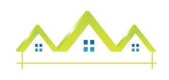 Logo Houses icon stock photography
