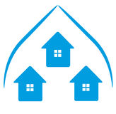 Logo Houses icon Stock Image
