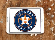 Houston Astros baseball team logo. Logo of Houston Astros baseball team on samsung tablet. The Houston Astros are an American professional baseball team based in Stock Photography