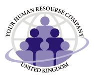 Logo - human Resource Company royalty free stock photography