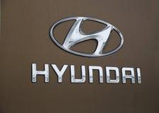 Logo Hyundai Stock Photo