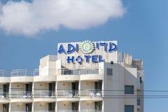 Logo i znak ADI hotel w Eilat fotografia royalty free
