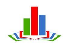 Logo, Icon design element, company name. Vector icon royalty free illustration