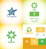 Logo icon design elements set Stock Image