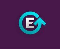Logo Icon Design Template Element dans la lettre de vecteur Photos stock