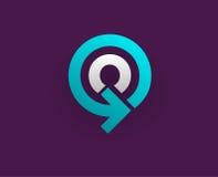 Logo Icon Design Template Element dans la lettre de vecteur Photographie stock