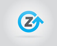 Logo Icon Design Template Element im Vektor-Buchstaben Lizenzfreie Stockbilder