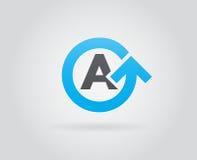 Logo Icon Design Template Element im Vektor-Buchstaben Stockbilder