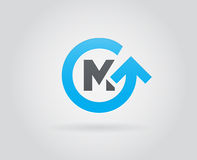 Logo Icon Design Template Element im Vektor-Buchstaben Lizenzfreie Stockfotos