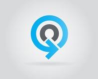 Logo Icon Design Template Element im Vektor-Buchstaben Lizenzfreie Stockfotografie