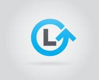 Logo Icon Design Template Element im Vektor-Buchstaben Stockfotografie