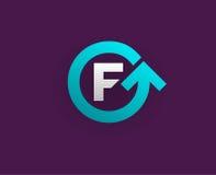 Logo Icon Design Template Element im Vektor-Buchstaben Stockfoto
