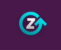 Logo Icon Design Template Element im Vektor-Buchstaben Stockbild
